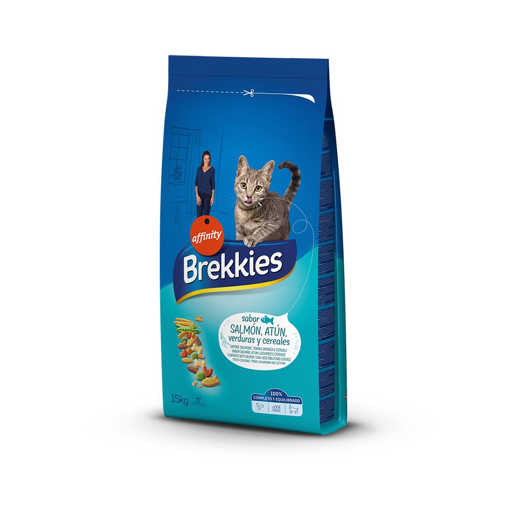 BREKKIES EXCEL CAT MİX FİSH 15 KG