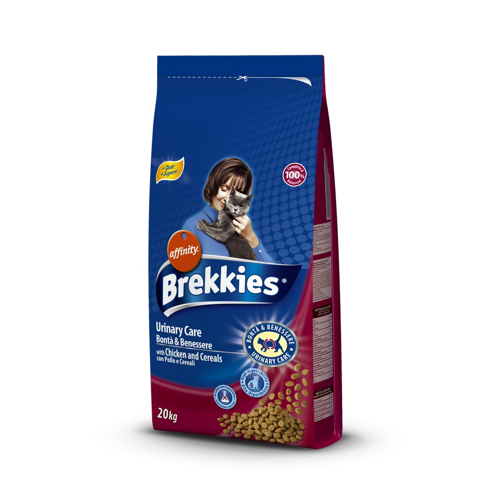 BREKKIES EXCEL CAT BONTA BENESSERE URINARY 20KG