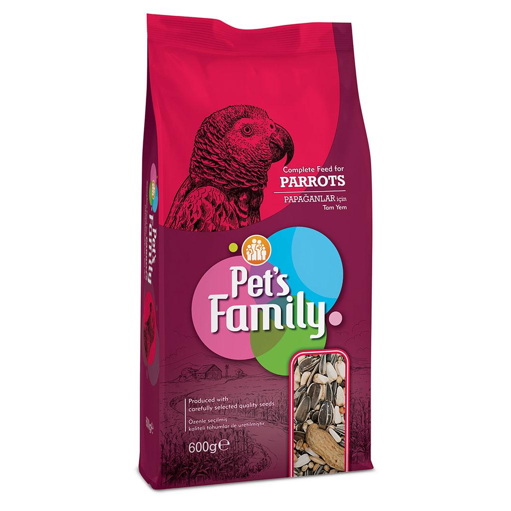 PETS FAMILY PAPAĞAN YEMİ 600G