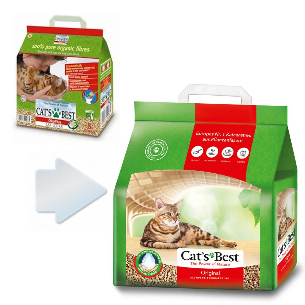 CATS BEST ORİGİNAL 5 L (2,10 KG)