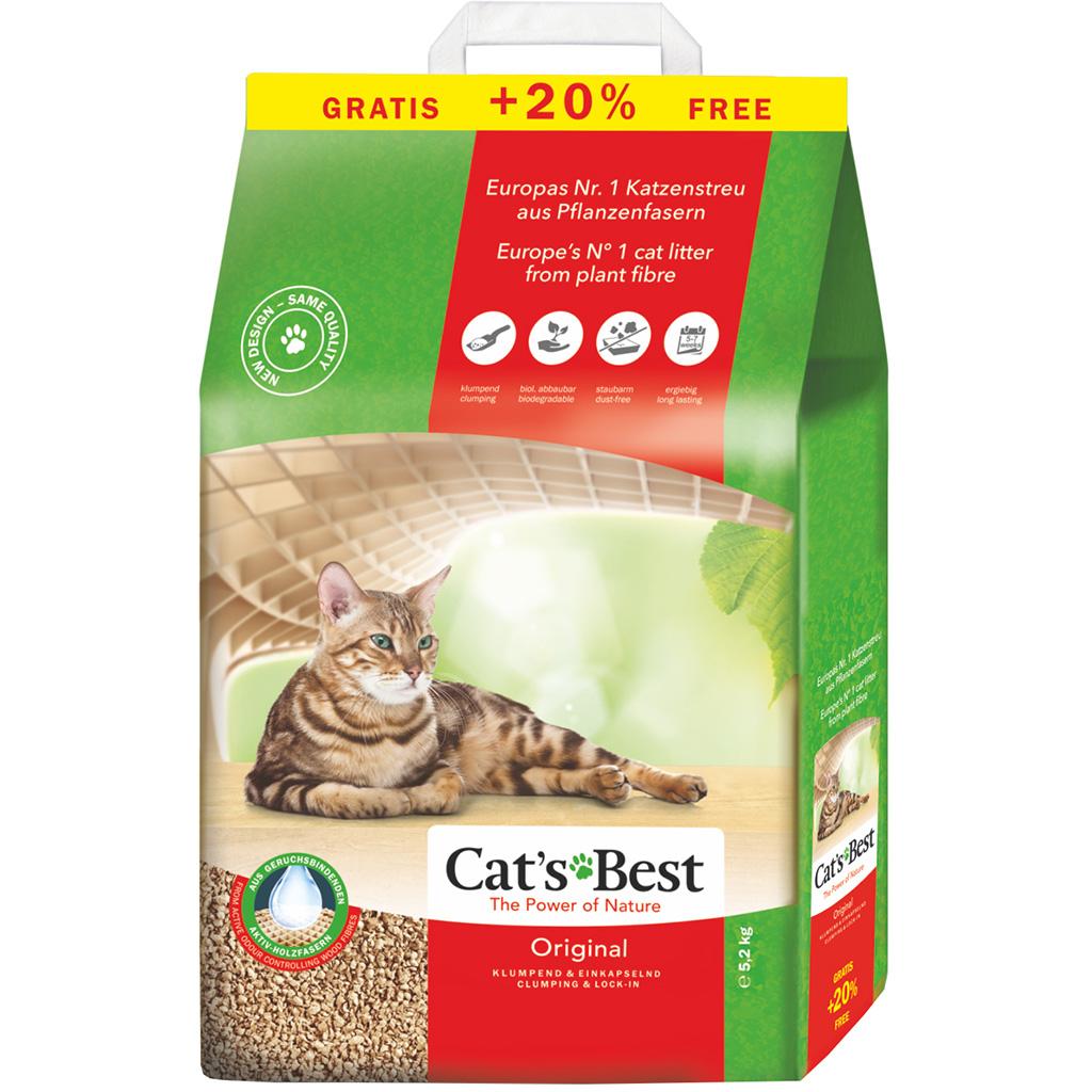 CATS BEST ORİGİNAL 10+2 L (5,2 KG)
