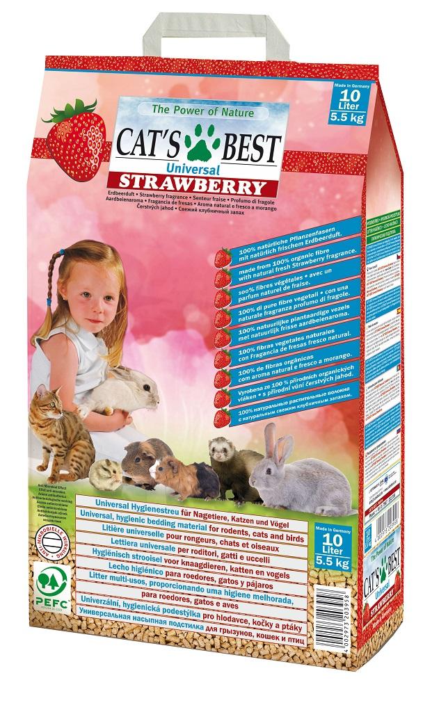 CATS BEST UNİVERSAL ÇİLEKLİ 10 LT (5.50 KG)