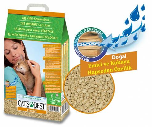 CATS BEST COMFORT KEDİ KUMU 10 LT (4,30 KG)