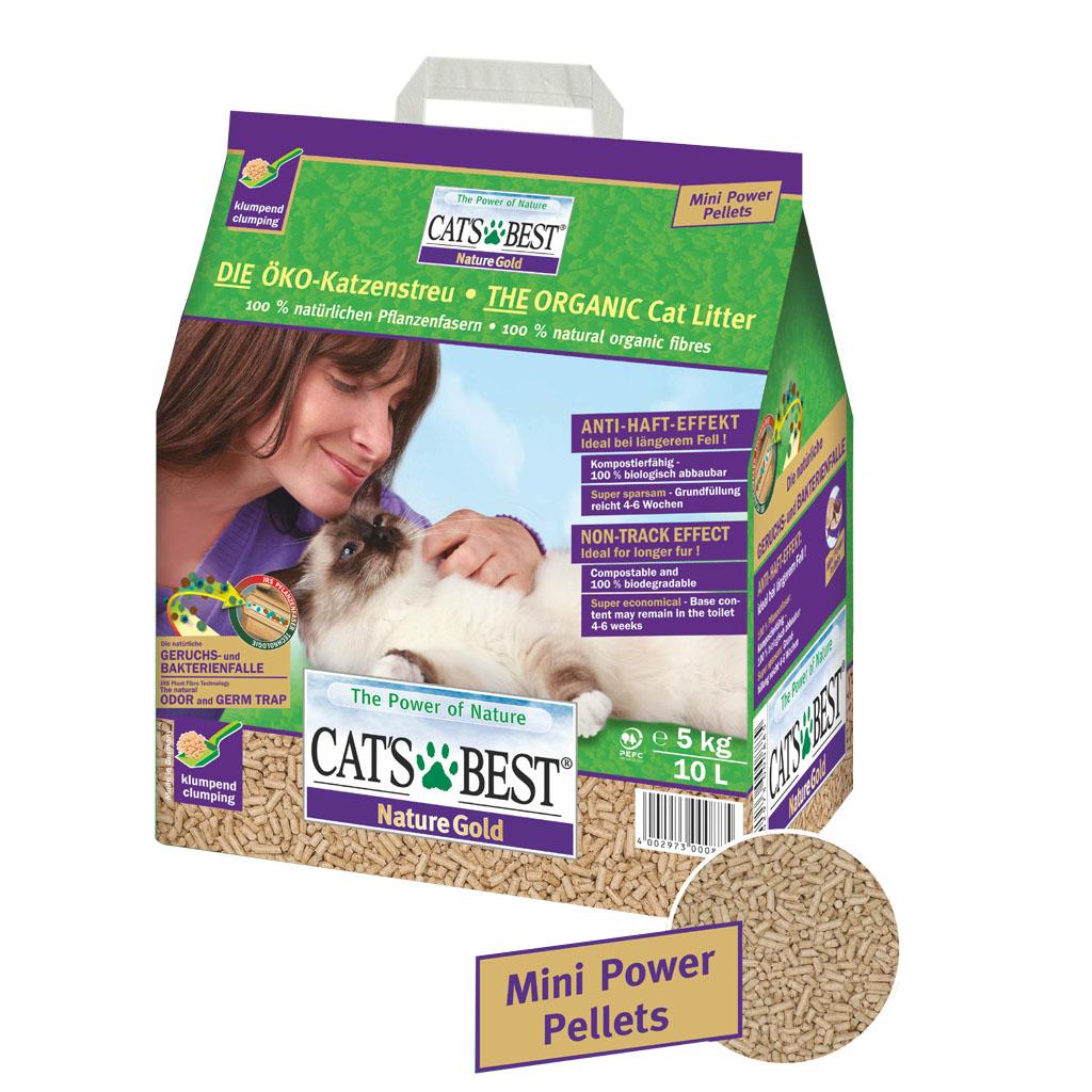 CATS BEST NATURE GOLD KEDİ KUMU 10 LT (5 KG)