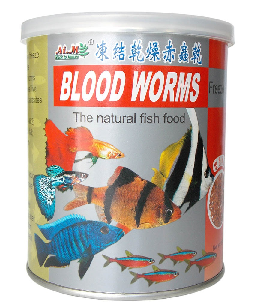 AIM BLOOD WORMS 55 g.
