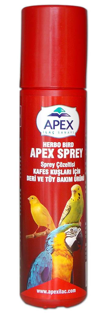 APEX SPREY (KAFES KUŞLARI DERİ VE TÜY BAKIM)