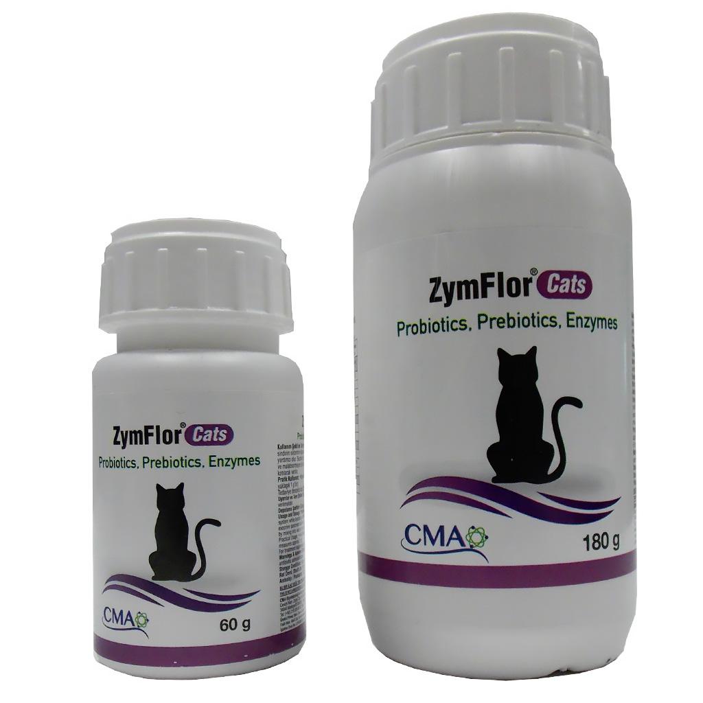 CMA Zym Flor Kediler İçin Sindirim Düzenleyici Probiyotik 60 Gr