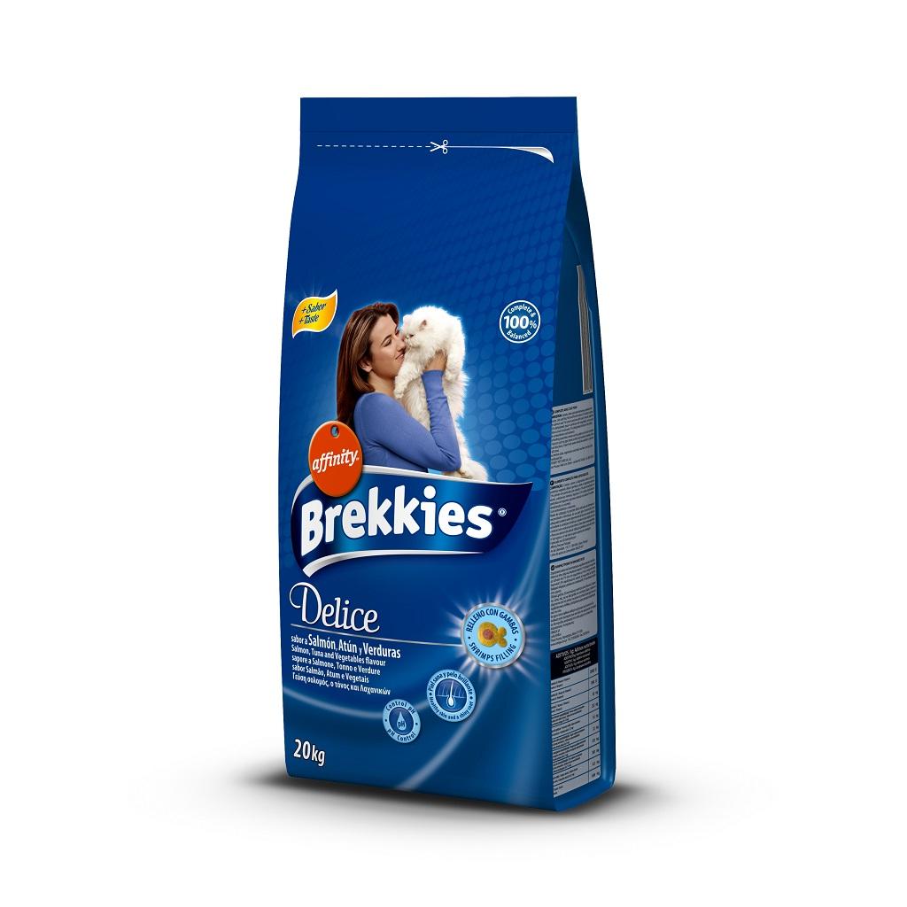 BREKKİES EXCEL CAT DELİCE FISH 20 KG
